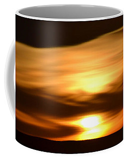 Coffee Mug featuring the photograph Sunset Abstract I by Nadalyn Larsen