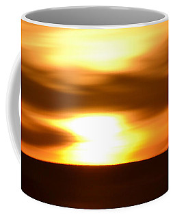 Coffee Mug featuring the photograph Sunset Abstract II by Nadalyn Larsen
