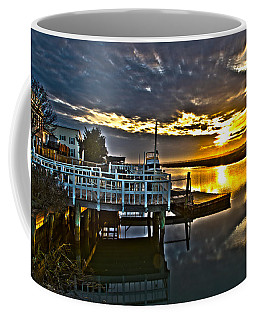 Sunset Across The Inlet Coffee Mug