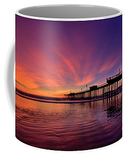 Coffee Mug featuring the photograph Sunset Afterglow by Beth Sargent