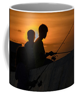 Sunset Anglers Coffee Mug