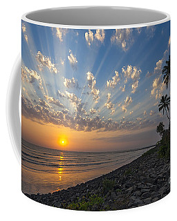 Sunset At Alibag, Alibag, 2007 Coffee Mug