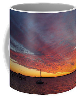 Sunset At Cafe Coconut Cove 6 Coffee Mug by Kay Gilley