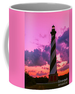 Sunset At Cape Hatteras Vertical  Coffee Mug by Nick Zelinsky