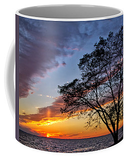 Sunset At Chesapeake Beach Coffee Mug