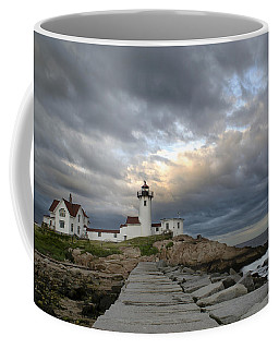Sunset At Eastern Point Lighthouse Coffee Mug