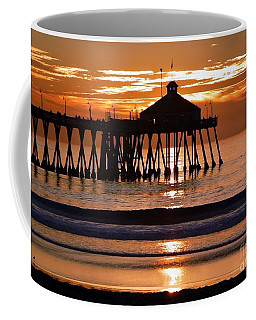 Sunset At Ib Pier Coffee Mug