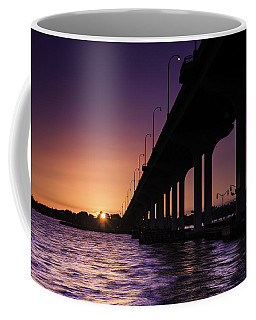 Sunset At Jensen Beach Coffee Mug