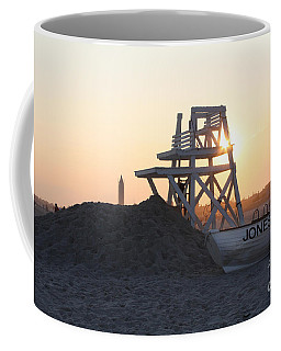 Coffee Mug featuring the photograph Sunset At Jones Beach by John Telfer
