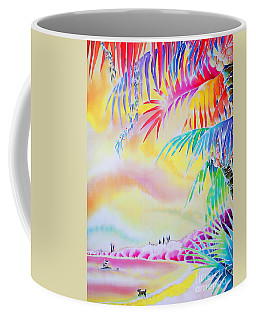 Sunset At Kuto Beach Coffee Mug