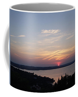 Sunset At Lake Travis Coffee Mug