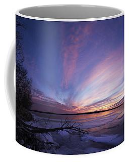 Sunset At Lovewell Lake Kansas Coffee Mug