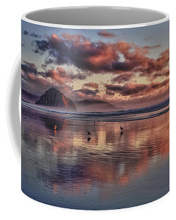 Coffee Mug featuring the photograph Sunset At Morro Strand by Beth Sargent