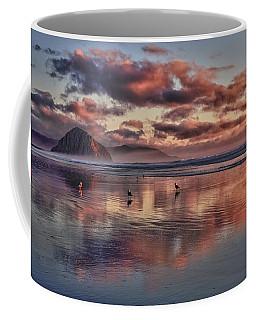Sunset At Morro Strand Coffee Mug