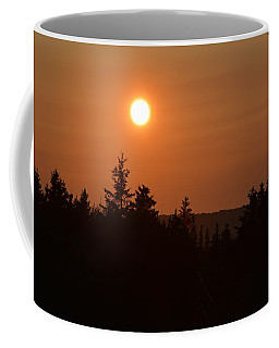 Sunset At Owl's Head Coffee Mug