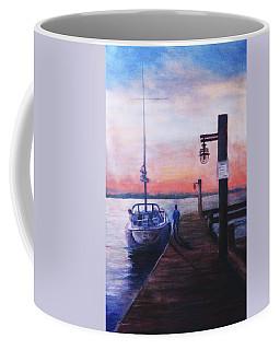 Sunset At Rocky Point Coffee Mug