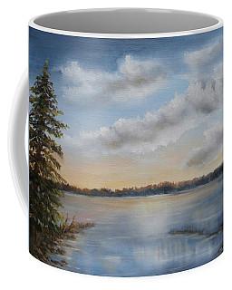 Sunset At Sparta Lake New Jersey Coffee Mug