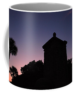 Sunset At The Gate Coffee Mug