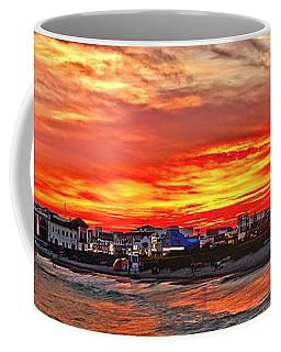 Sunset At The Music Pier Coffee Mug