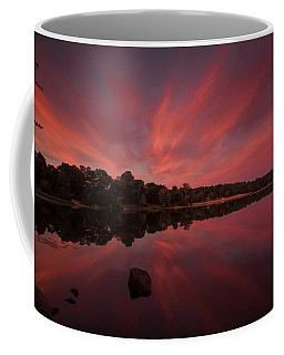 Sunset At The Pond Coffee Mug