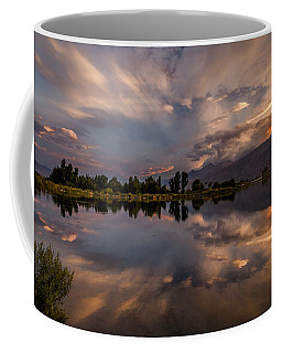 Sunset At The Pond Coffee Mug