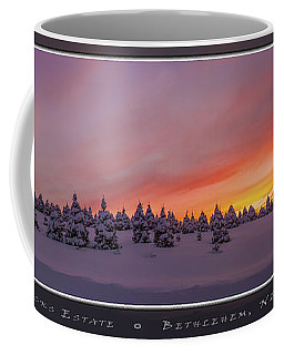 Sunset At The Rocks Coffee Mug