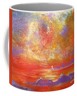 Sunset At Wingershaek Beach Coffee Mug