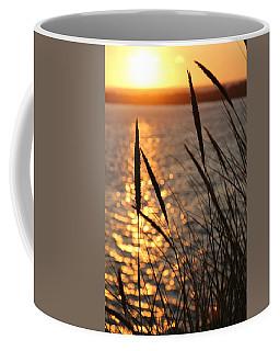 Coffee Mug featuring the photograph Sunset Beach by Athena Mckinzie