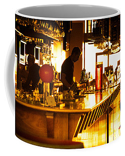 Coffee Mug featuring the photograph Sunset Bar by Ray Warren