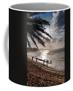 Sunset Beach Park Coffee Mug