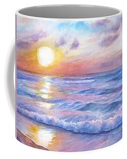 Sunset Beach Hawaii Seascape  Coffee Mug