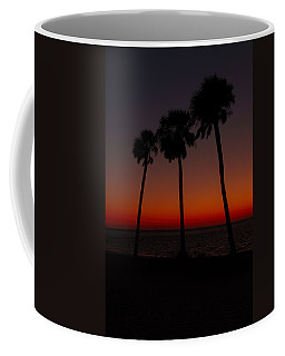Sunset Beach Silhouette Coffee Mug
