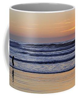 Sunset Beach Stroll  Coffee Mug