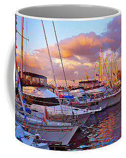 Sunset Before The Show Coffee Mug