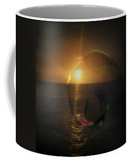 Sunset Bubble Coffee Mug