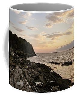 Sunset By The Sea Coffee Mug by Jean Goodwin Brooks
