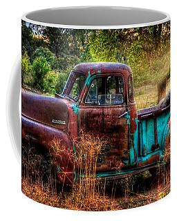 Sunset Chevy Pickup Coffee Mug