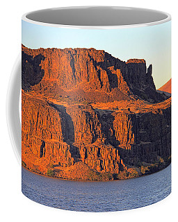 Coffee Mug featuring the photograph Sunset Cliffs At Horsethief  by Talya Johnson