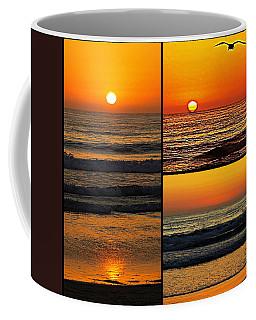 Sunset Collage Coffee Mug by Sharon Soberon