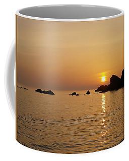 Sunset Crooklets Beach Bude Cornwall Coffee Mug