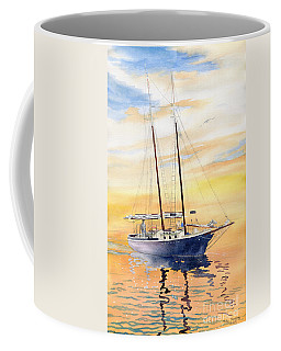 Sunset Cruise Coffee Mug by Melly Terpening