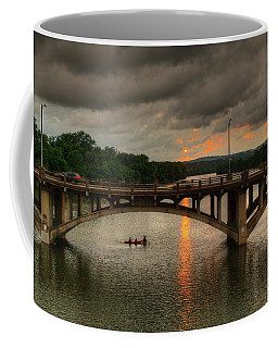 Sunset Fighting Through Coffee Mug