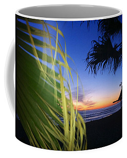 Sunset Fire At Sano Coffee Mug