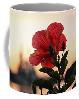 Coffee Mug featuring the photograph Sunset Flower by Cynthia Guinn