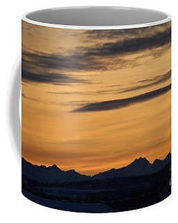 Sunset From 567 Coffee Mug
