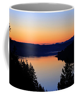 Sunset From The Deck Coffee Mug