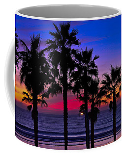 Sunset From The Ocean Park Inn Coffee Mug
