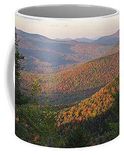 Sunset Glow Over The Autumn Landscape Coffee Mug
