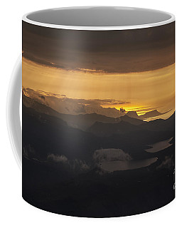 Coffee Mug featuring the photograph Sunset by Gunnar Orn Arnason