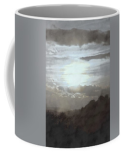 Coffee Mug featuring the photograph Sunset Impressions Over The Blue Ridge Mountains by Photographic Arts And Design Studio